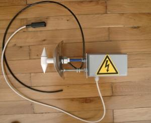 Elektrode vor der Prüfung